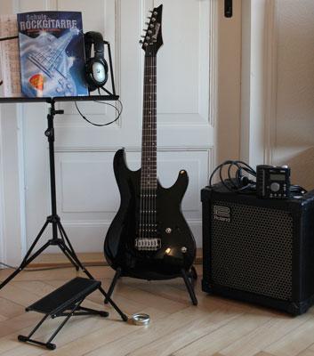 E-Gitarren Grundausstattung