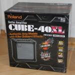 Roland Gitarrenverstärker Cube 40 XL Verpackung