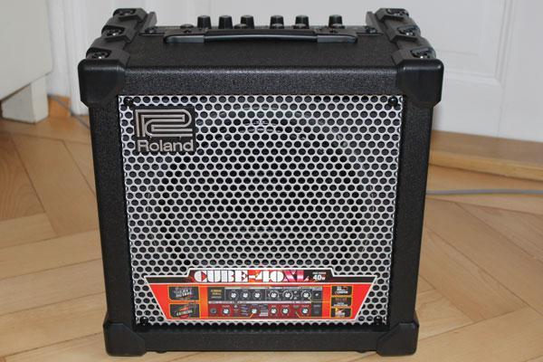 Mein neuer Gitarren-Verstärker: Roland Cube 40XL
