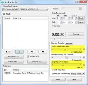 Screenshot - BestPractice Tool